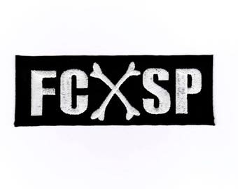 FC SP patch badge iron on sew