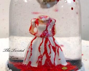 Guillotined Marie Antoinette Snow Globe