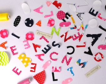 Optional personalization with name for items customizable price for one letter