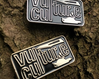 Vulture Culture lapel pin