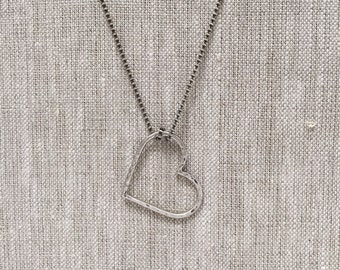 Opie Necklace in Sterling Silver on Ball Chain
