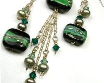 Luxurious Linear Drop Tutorial, PurpleLily Designs by Joanne Ortiz