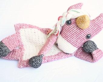 Horse or Unicorn Ragdoll crochet amigurumi pattern PDF INSTANT DOWNLOAD