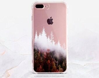 iPhone 8 Case iPhone X Case iPhone 7 Case Autumn Forest Clear GRIP Rubber Case iPhone 7 Plus Clear Case iPhone SE Case Samsung S8 Case U310