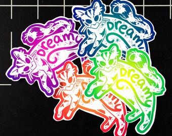 Dreamy Kitty Stickers