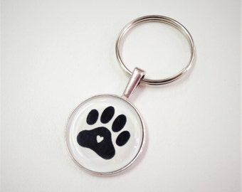 NEW Dog Love Keychain- FOB - Zipper Pull