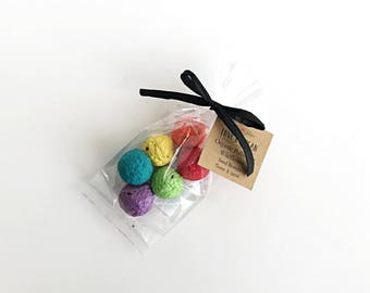 Organic Pollinator Wildflower Seed Bomb - Earth Rainbow Or Cloud/ Snowball - Mothers Day-Gardner Gift-Green Thumb-Plantable Paper