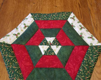 Christmas Table Topper Centerpiece