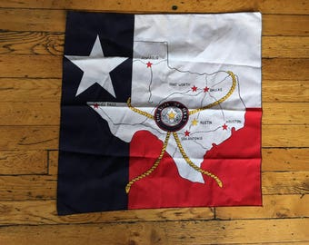 Vintage Texas bandana USA