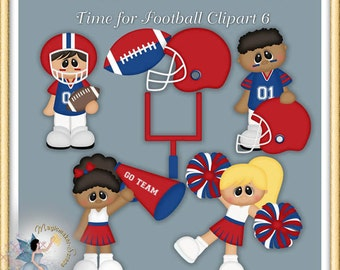 Time for Football Clipart 6