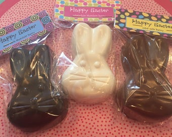SOLID Chocolate 1/4 lb. Easter Bunny