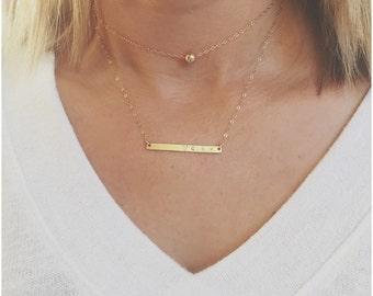 Choker Gold Necklace, Dainty Necklace, Minimal Necklace, Choker Necklace, Gold Necklace Choker, Delicate Necklace