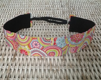 Colorful  Swirl Headband - Womens Running Headbands