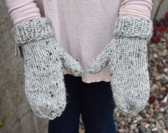 Women's Knit Mittens
