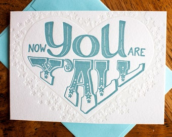 Now You are Y'all - Card