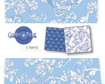 "SALE China Blue by Benartex - (42) 5"" x 5"" Charm Pack"