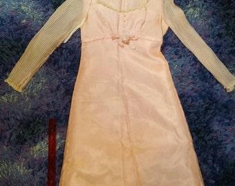 Mid Century Pink Dress Vintage Ladies Fashion Dress 1940s by Jonathan Logan
