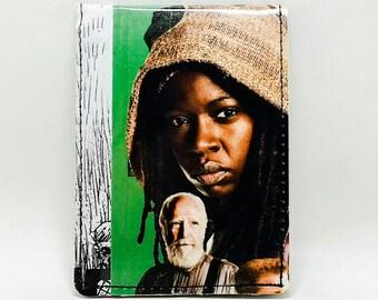 Sewn Comic Book / Magazine Wallet - The Walking Dead - Michonne