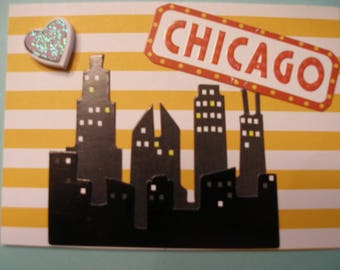 ACEO ARTIST TRADING Card Chicago