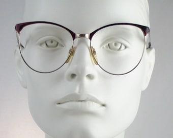Metalflex 45 / Vintage 80s  Eyeglasses / N O S  / made in Italy || art. A