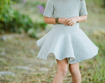 INSTANT DOWNLOAD- Emma Dress (Sizes 2 to 10) PDF Sewing Pattern and Tutorial