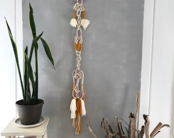 Hidden Realms of Mind and Heart: Knotted Wall Hanging