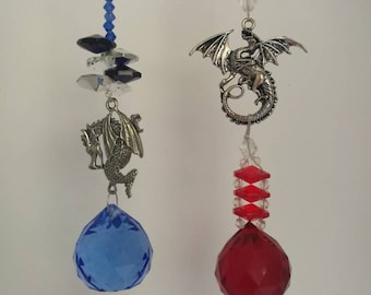 Dragon sun catchers