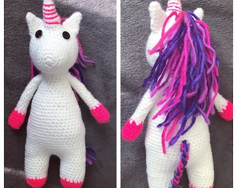 Crochet Stuffed Unicorn