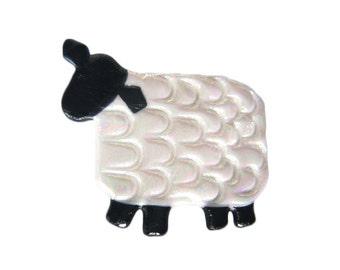 Lamb Pin, Sheep Pin, Lamb Brooch, Sheep Magnet, Lamb Jewelry
