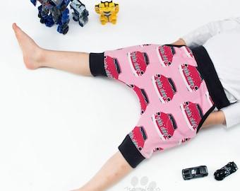 Organic Shorts: Girl Shorts, Boy Shorts, Toddler Shorts, Organic Baby Shorts, Cute Boy Clothes, Organic Shorts, Car Shorts, Pink Shorts
