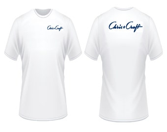 Chris Craft Boats Script T-Shirt