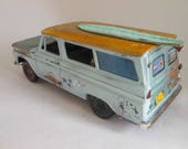 Scale Model,RatRod,OOAK,Surfs Up,Wipe Out,Rusted Wreck,1 24Scale,Chevy Truck, Suburban