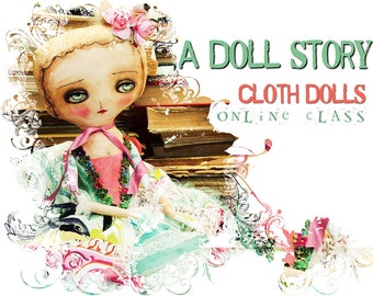 Registration To Danita's Online Class Workshop -  A Doll story: Make handmade art dolls using your own personal story.