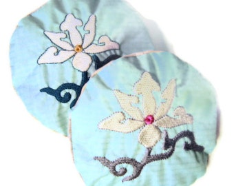 Lavender Sachets Floral Embroidery Recycled Paraglider Lotus Two