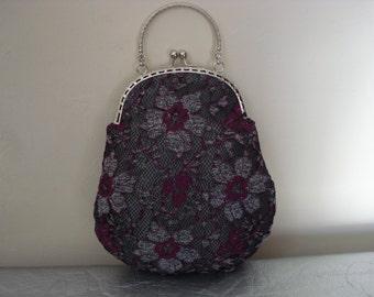 Vintage lace handbag