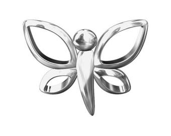 Charm Dragonfly Sterling Silver 925