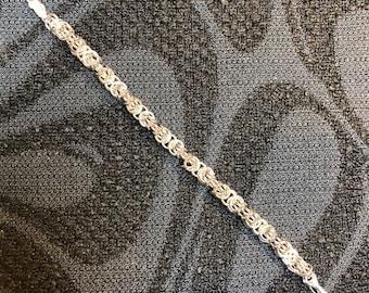 Tryzantine Chain Sterling Silver Bracelet