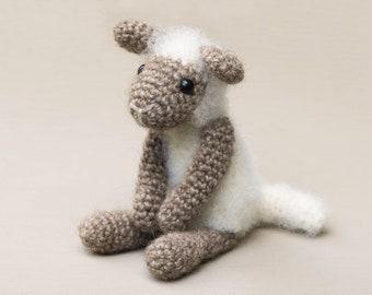 Crochet lamb sheep pattern amigurumi