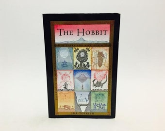 Vintage Fantasy Book The Hobbit by J.R.R. Tolkien Softcover