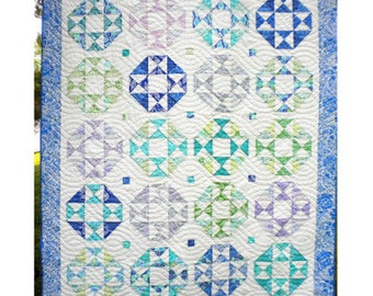 Seashore Drive PDF Quilt Pattern