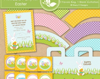 Printable Party Kit - Easter
