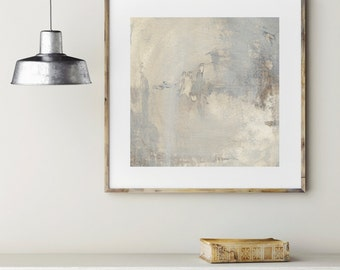 Abstract Art Print - 'Sand' | Modern | Wall Hangings | Beige Painting | Abstract Landscape | Art Print | Fine Art Prints | Abstract Painting
