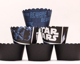 Star Wars Cupcake Wrappers