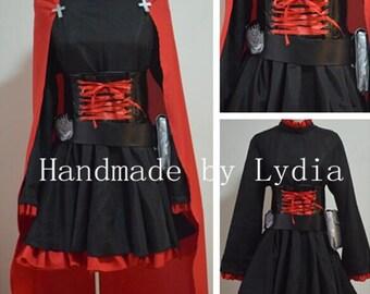 Handmade - RWBY Cosplay, RWBY Costume, RWBY Ruby Cosplay Costume Halloween Adult/kid Available