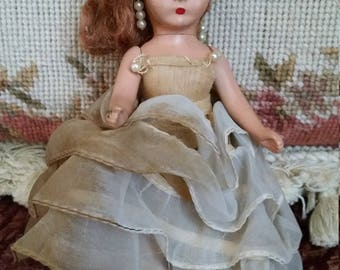 "Nancy  Ann storybook dolls bisque 5 1/2"" as-is"