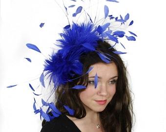 Eagle - Royal  Fascinator Kentucky Derby or Wedding Hat With Headband