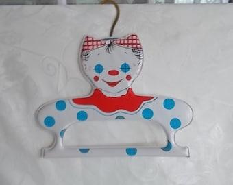 Vintage Vinyl Clown Girl Hanger