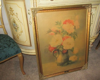 ANTIQUE PRINT WALL Hanging