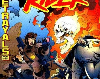 Issue 60 Ghost Rider Comic Book in VF-NM Condition