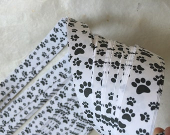 Clearance* Paw Prints~ Moravian German Froebel Star Paper (52 strips)